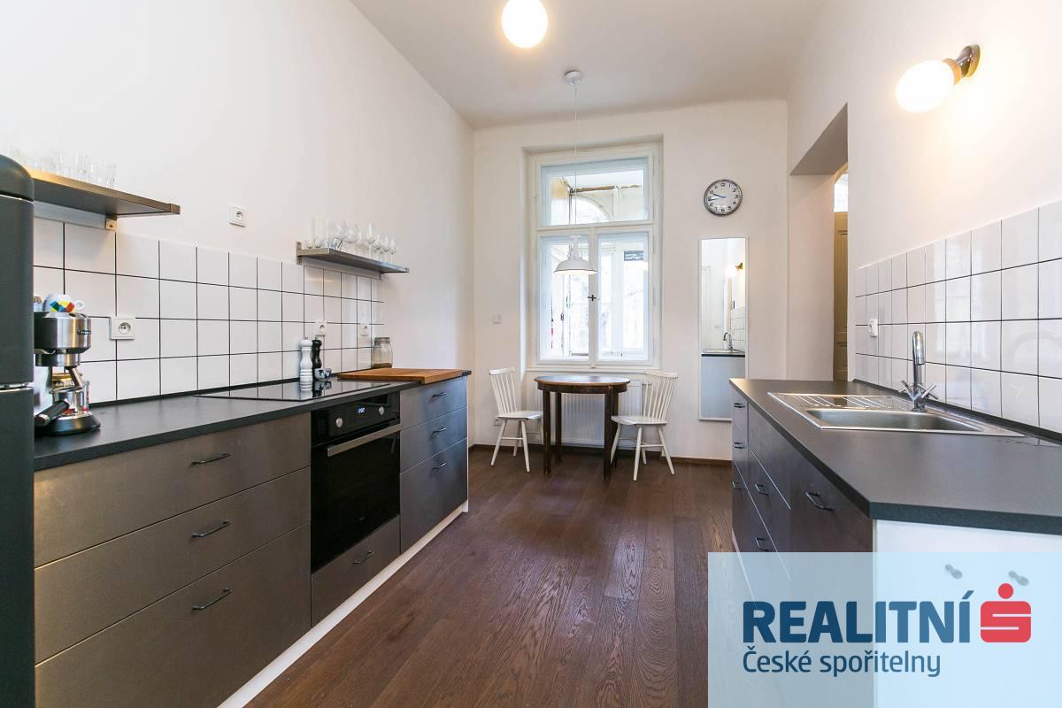 Prodej, Byt 3+1/L, 85 m2, ul. Plzeňská, Praha 5 - Smíchov
