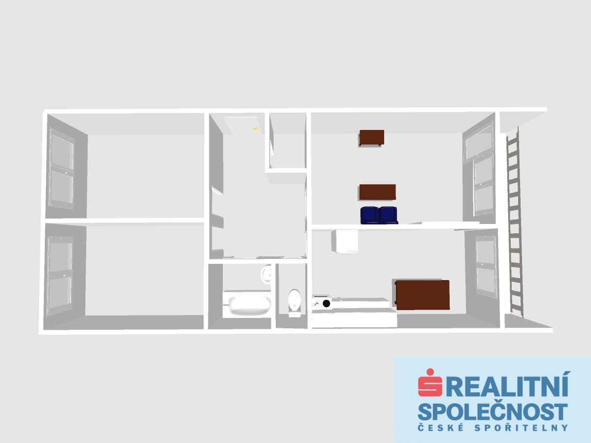 Prodej, Byt 3+1, Praha 5, 70 m2 + 7 m2 lodžie
